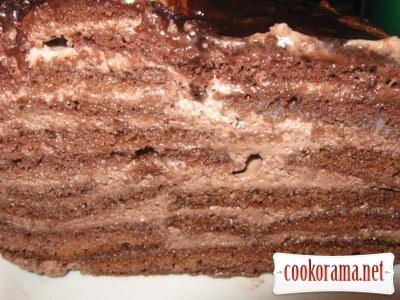 Черничный лес торт фото 2