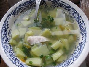 Суп з горошком