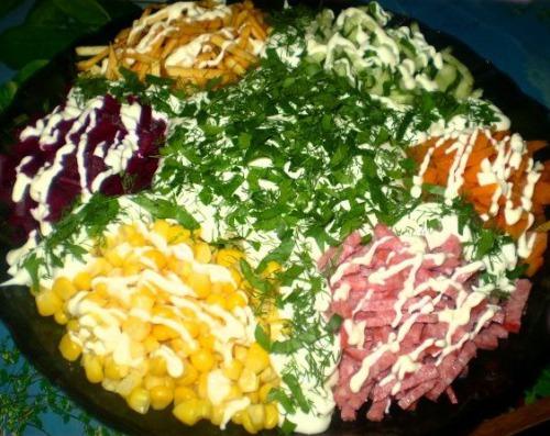 Чудо салат чудо рецепт пошагово в домашних условиях
