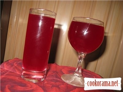 Kvass from crude beet