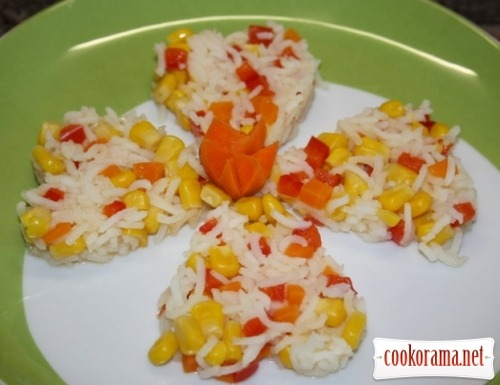 Рис в мексиканському стилі