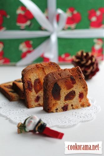 Класичний різдвяний кекс