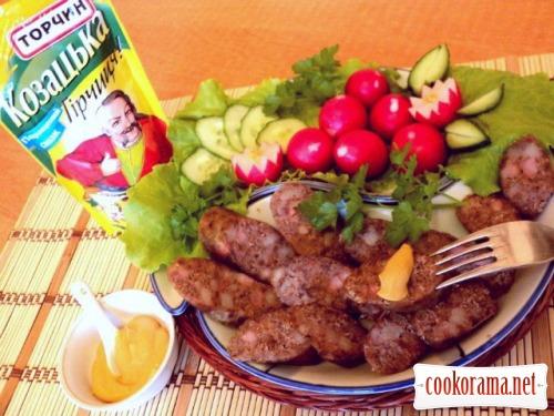 Колбаса домашняя «Пикантная»