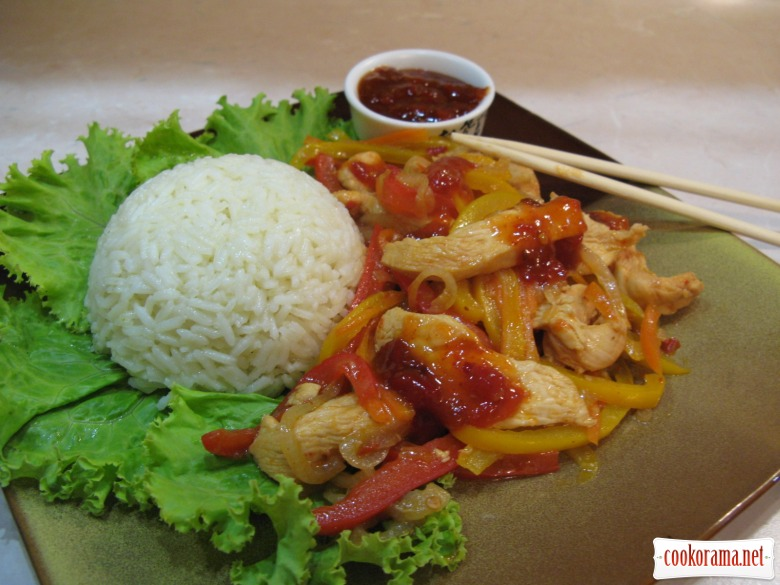Курица по-азиатски