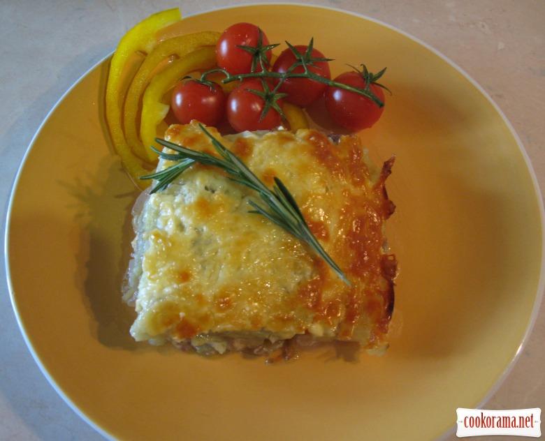 Картофель гратен пошаговый рецепт с