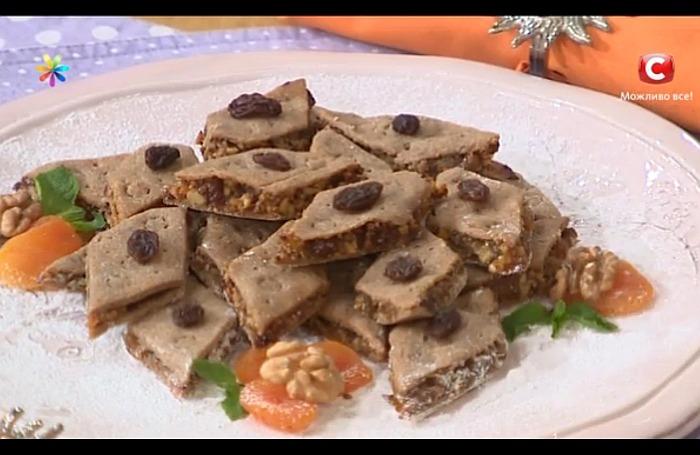 Ореховое печенье от Марины Вдовенко