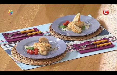 Куриное филе с грушами от Аллы Ковальчук