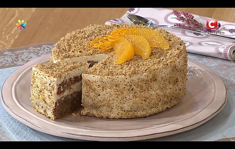 Гречаний торт з сиром від Лізи Глінської