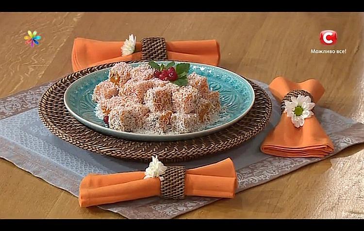 Рецепты порционных салатов для праздничного стола