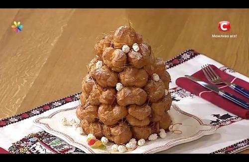 Французский новогодний торт «Крокембуш» от Лизы Глинской