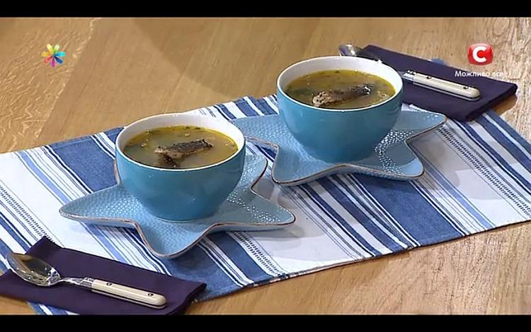 Суп из карпа с черносливом от актера Алексея Тритенко