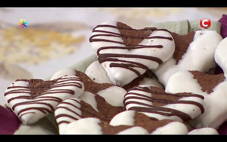 Печенье-валентинки Лебкухен от Татьяны Литвиновой