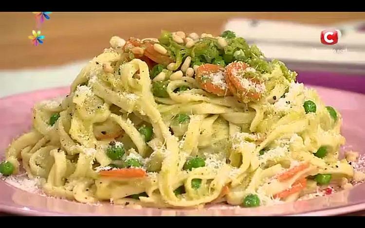 Паста «Примавера» – романтический ужин от Тани Литвиновой