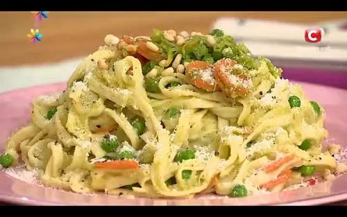 Паста «Прімавера» - романтична вечеря від Тані Литвинової