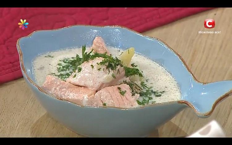 Фінський суп з сьомги проти застуди від Ектора Хіменес-Браво