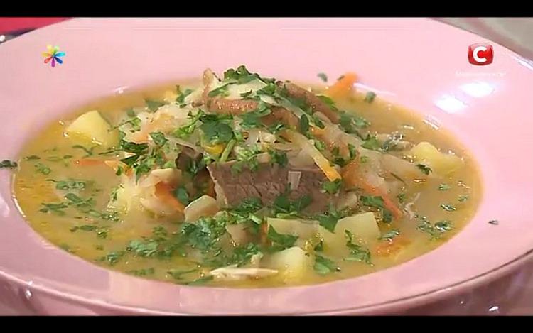 Старославянское блюдо – сытные щи от Татьяны Литвиновой