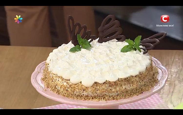 Диетический торт из фасоли от кулинара Аллы Ковальчук