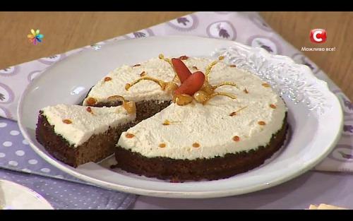 Морковный торт без муки и сахара от Лизы Глинской