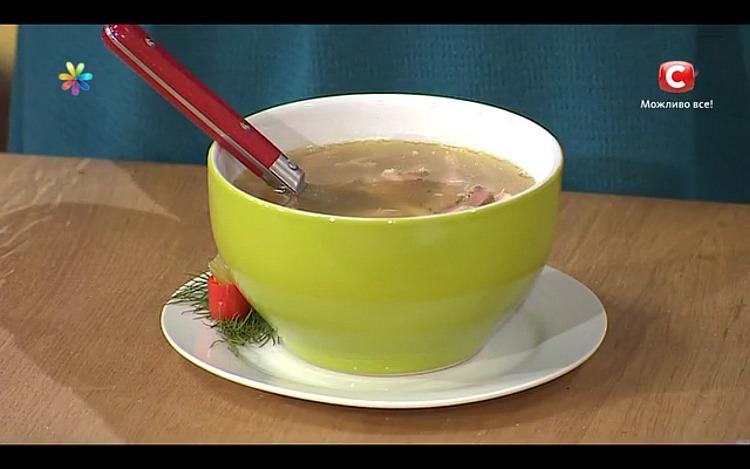 Антипростудный суп из петуха от кулинара Аллы Ковальчук