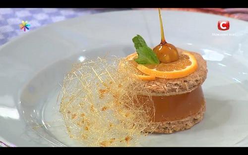 Имбирная таблетка-сэндвич с облепихой от Ольги Мартыновской