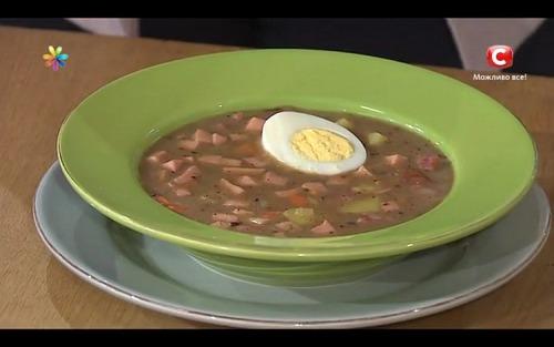 Прикарпатський суп «Журек» від Костянтина Грубича