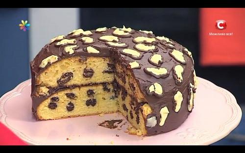 Леопардовый торт от кулинара Лизы Глинской