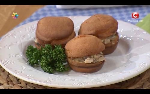Булочки-поповери від кулінара Тетяни Литвинової
