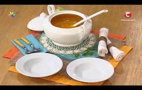 Уникальный рецепт горохового супа от Сергея Калинина