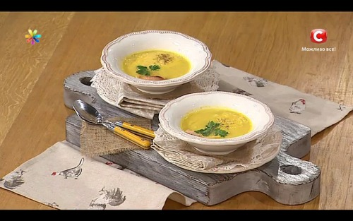Крем-суп из редьки от участника «МастерШеф» Никиты Моисеева