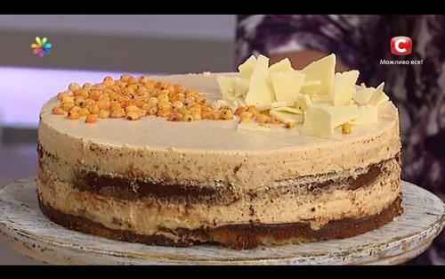 Изысканный французский торт с облепихой от Аллы Ковальчук