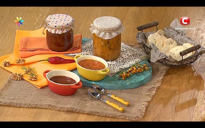 Облепиховый соус с перцем от Аллы Ковальчук