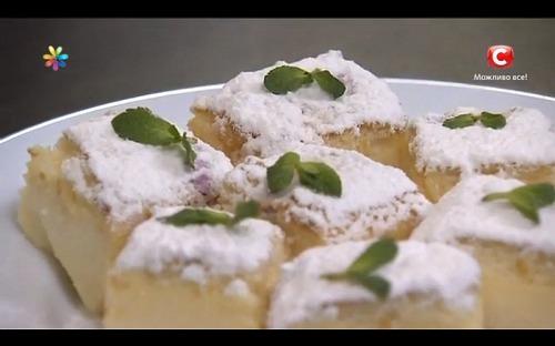 Трехслойный пирог из продуктов, которые всегда есть в холодильнике!