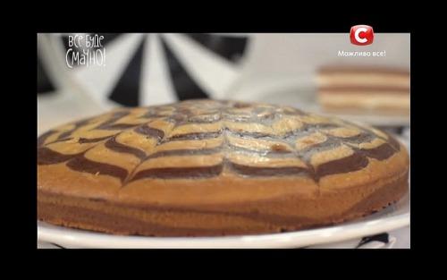 Торт «Зебра» от Лизы Глинской
