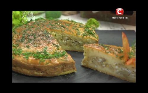 Пирог с капустой от Аллы Ковальчук