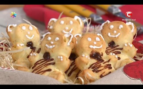 Детские бисквиты-зверушки от Анны Мажник