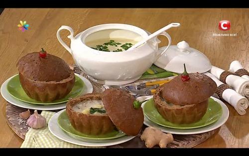 Антипростудный чесночный суп без неприятного запаха