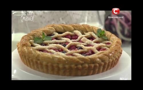 Пирог с ягодами от Евдокии Андреевны
