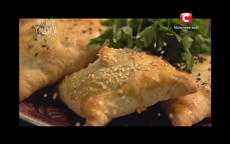 Самса с сыром и зеленью от Микаэля Арояна