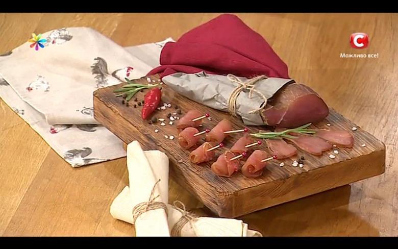Сыровяленый балык от Аллы Ковальчук