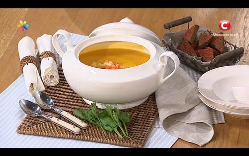 Пикантный суп-пюре с морковью от Ирины Стребковой