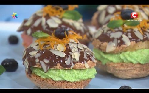 Французские пирожные буше от Татьяны Литвиновой