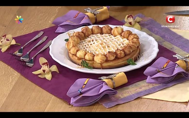 Десерт Сент-Оноре от участницы «МастерШеф-4» Виктории Кушнир
