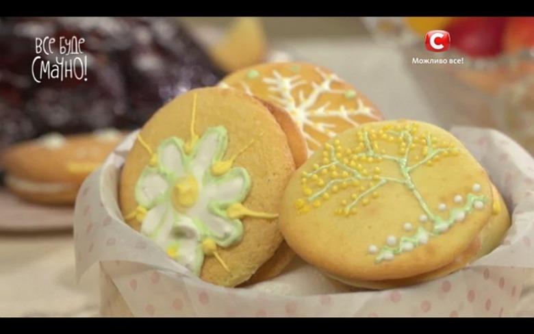Печенье с шоколадной прослойкой от Татьяны Литвиновой