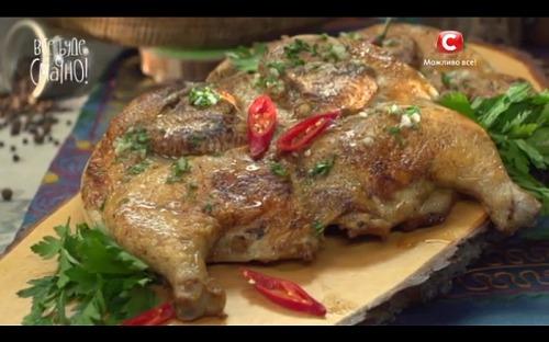 Цыплята тапака от Микаэля Арояна