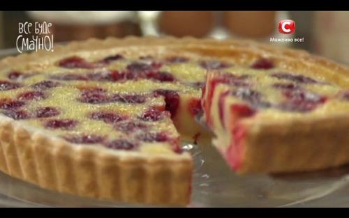 Вишневый пирог от Аллы Ковальчук