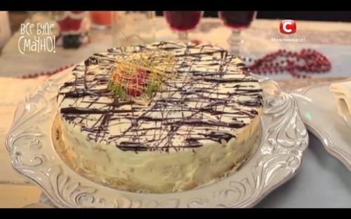 Торт «Дамские пальчики» от Самвела Адамяна