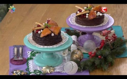 Торт с длительным сроком хранения – Добош от Анны Мажник