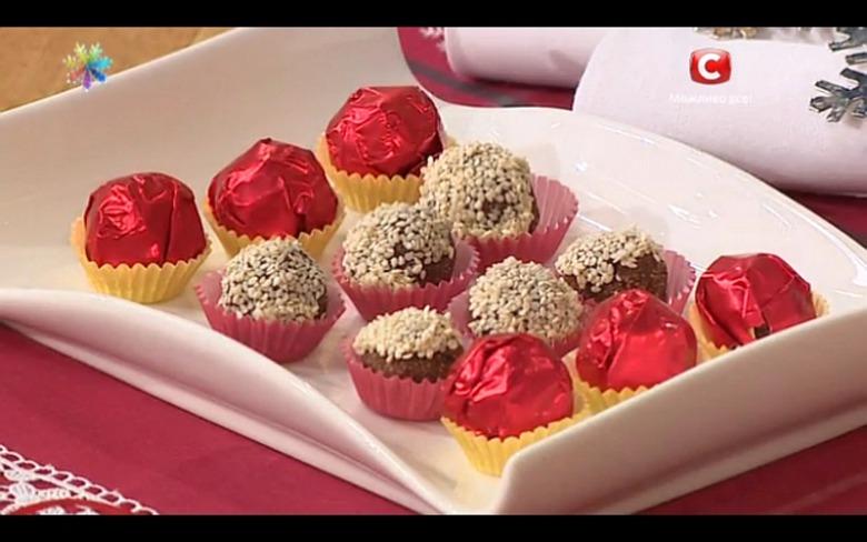 Гречневые конфеты «Запеченный трюфель» на День Св. Николая