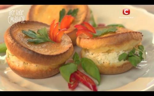 Поповеры с сладкой начинкой от Самвела Адамяна