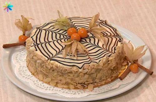 Эстерхази – изысканный торт к праздничному столу от Сергея Калинина